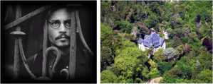 Johnny Depp in Sintra